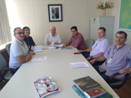 Prefeito realiza reunião com Superintendente do Incra