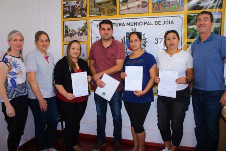 Prefeitura de Jóia realiza mais três posses