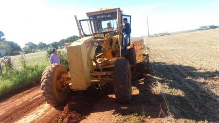 Prefeitura de Jóia realiza mais de 250 km de Patrolamento com máquinas terceirizadas