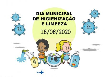 """Secretaria de Saúde promove """"Dia Municipal de Higienização e Limpeza"""""""