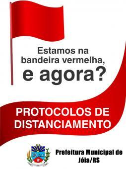 Confira os protocolos da Bandeira Vermelha