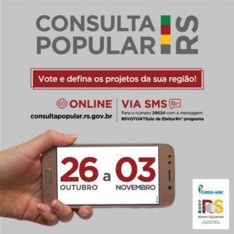 Participe da Consulta Popular 2020