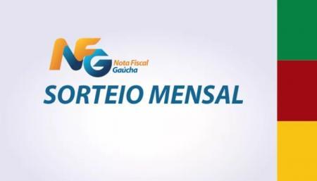 Sorteio do mês de Novembro do Programa Nota Fiscal Gaúcha