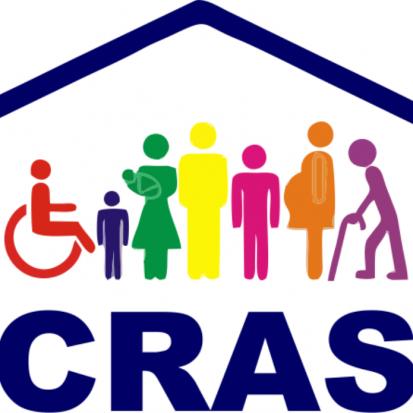 Logotipo do serviço: CRAS Corrente do Bem